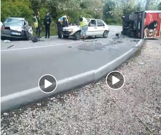 Acidente aparatoso na estrada das Algarvias (c/ vídeo)