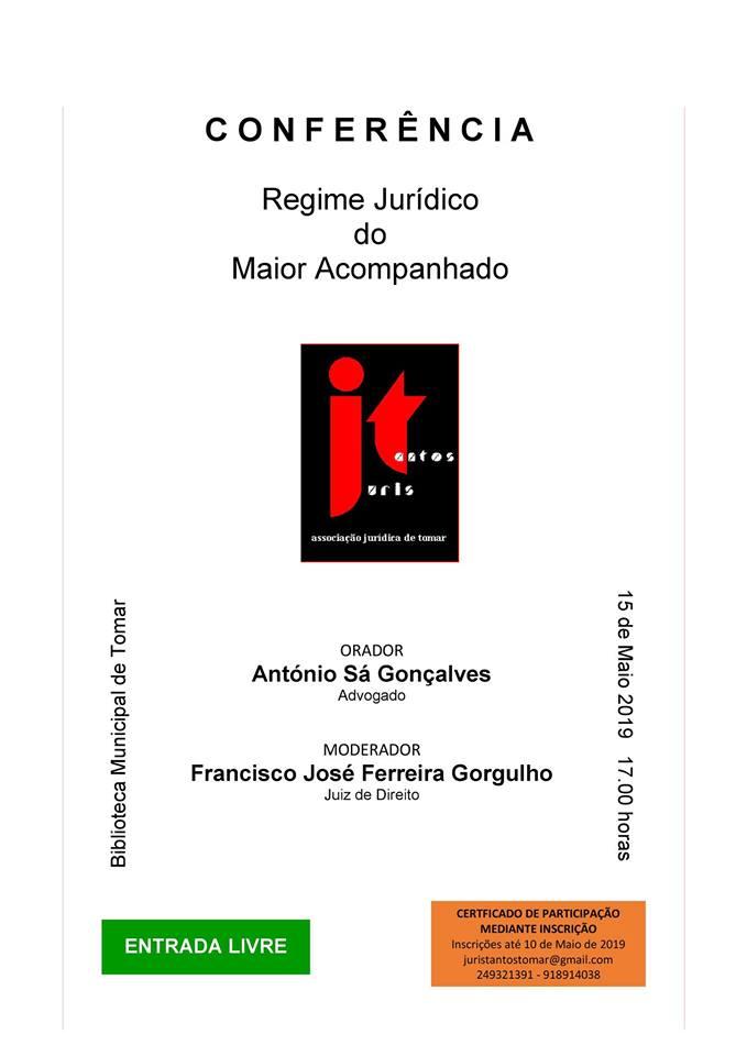 """Juristas debatem  """"Regime Jurídico do Maior Acompanhado"""""""